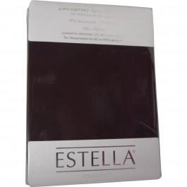 Spannbetttuch Estella Zwirn-Jersey 6900 schoko