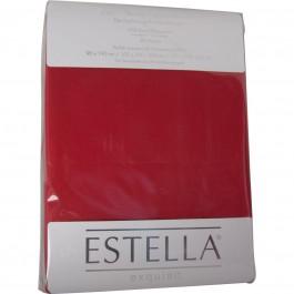 Spannbetttuch Estella Zwirn-Jersey 6900 purpur