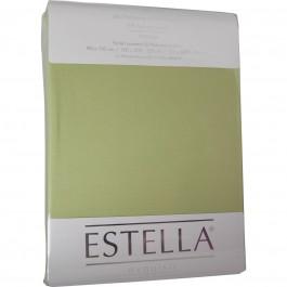 Spannbetttuch Estella Zwirn-Jersey 6900 lind