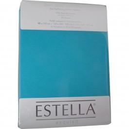 Spannbetttuch Estella Zwirn-Jersey 6900 türkis