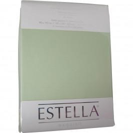 Spannbetttuch Estella Zwirn-Jersey 6900 verde