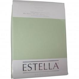 Spannbetttuch Estella Jersey 6500 verde