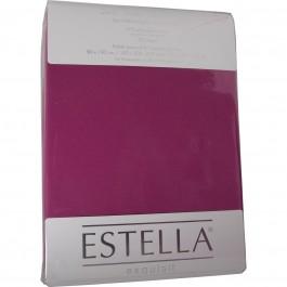 Spannbetttuch Estella Zwirn-Jersey 6900 fuchsia