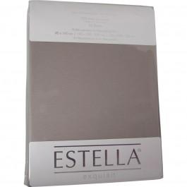 Spannbetttuch Estella Zwirn-Jersey 6900 kiesel