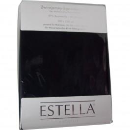 Spannbetttuch Estella Jersey 6500 schwarz