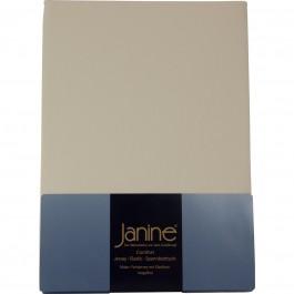 Spannbetttuch Janine Jersey 5007 champagner