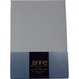 Spannbetttuch Janine Elastic Jersey 5002 silber