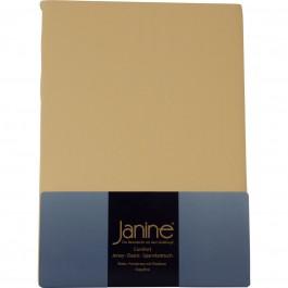 Spannbetttuch Janine Elastic Jersey 5002 vanille