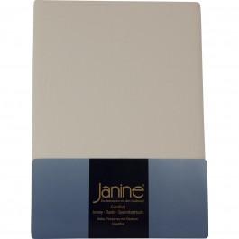 Spannbetttuch Janine Jersey 5007 leinen