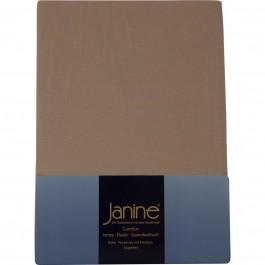 Spannbetttuch Janine Elastic Jersey 5002 nougat