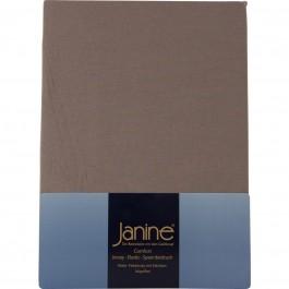 Spannbetttuch Janine Elastic Jersey 5002 taupe