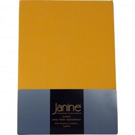 Spannbetttuch Janine Jersey 5007 sonnengelb