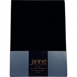 Spannbetttuch Janine Elastic Jersey 5002 schwarz