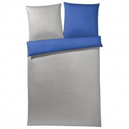 Joop! Mako-Satin Bettwäsche Solid blue