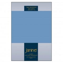 Topper-Spannbetttuch Elastic Jersey 5001 blau