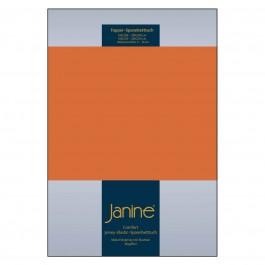 Topper-Spannbetttuch Elastic Jersey 5001 rost-orange