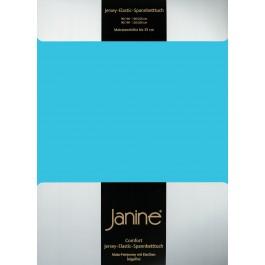 Spannbetttuch Janine Elastic Jersey 5002 türkis