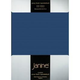Spannbetttuch Janine Elastic Jersey 5002 marine